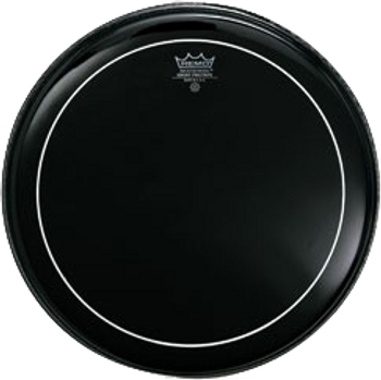 Remo Pinstripe Ebony Batter Drum Head 10""