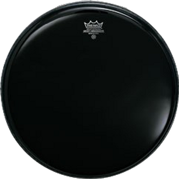 Remo Ambassador Ebony Bass Drum Head 22""