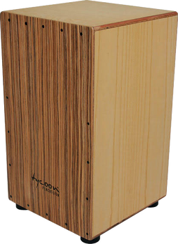 Tycoon Percussion 29 Series TKZ-29 Cajon Birch with Zebrano Plate