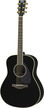 Yamaha LL6 BL ARE Acoustic/Electric Guitar Black