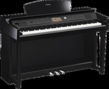 Yamaha CVP705 PE Polished Ebony Clavinova Digital Piano