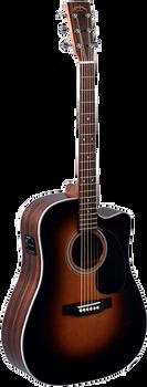 Sigma DRC-1STE-SB Acoustic/Electric Guitar