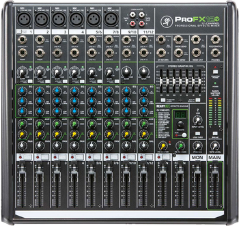 Mackie ProFX12 v2 Compact Mixer with USB and FX