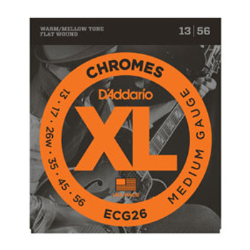 D'Addario Electric Strings Chromes ECG26