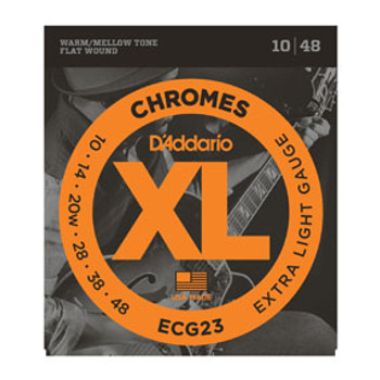 D'Addario Electric Strings Chromes ECG23