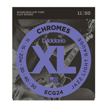 D'Addario Electric Strings Chromes ECG24