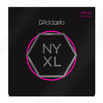 D'Addario Electric Strings NYXL 09-42
