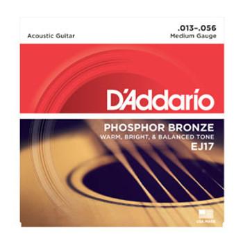 D'addario EJ17 Phosphor Bronze 13-56