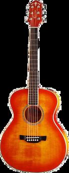 Crafter Castaway A/OS Acoustic Guitar Orange Burst