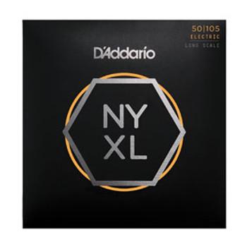 D'addario Bass Guitar Strings NYXL50105 4 String Set 50/105