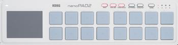 Korg nanoPad2 Drum Pad Controller White