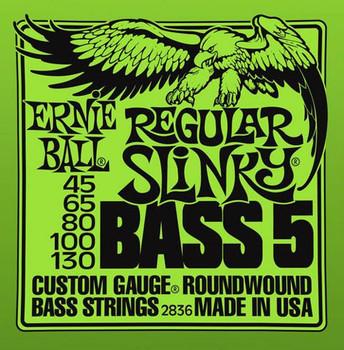 Ernie Ball Bass 5 String Regular 45-130