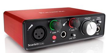 Focusrite Scarlett Solo 2nd Gen Audio Interface