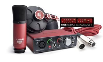 Focusrite Scarlett Solo Studio 2nd Gen Audio Interface Pack
