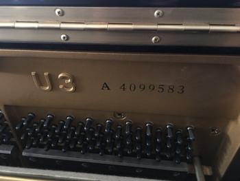 U3A Serial Number