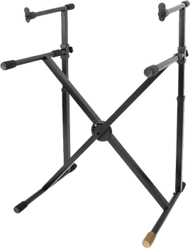 Hercules KS210B Double-Tiered Keyboard Stand