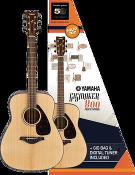Yamaha Gigmaker800 Guitar Pack Natural Gloss
