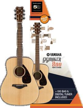 Yamaha Gigmaker800M Guitar Pack Natural Matte