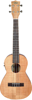 Kala KA-SMTE Spalted Maple Tenor Ukulele with Pickup