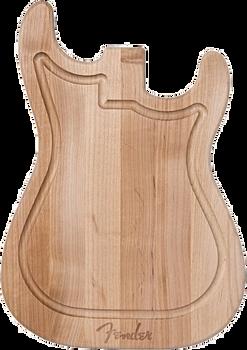 Fender Strat Cutting Board