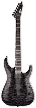 ESP LTD MH-401NT Quilted Maple See Thru Black