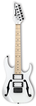 Ibanez PGMM31 Paul Gilbert Signature White
