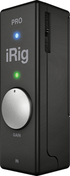IK Multimedia iRig Pro Universal Audio/MIDI Interface for iOS, Mac and Android