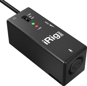 IK Multimedia iRig Pre XLR Microphone Interface for iOS and Android