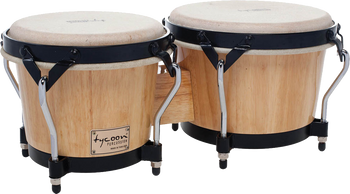 "Tycoon Percussion STB-B N 7"" & 8.5"" Supremo Series Bongos Natural"