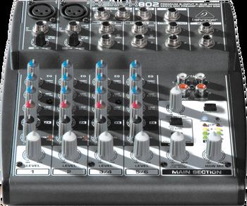 Behringer Xenyx 802 8 Input Mixer