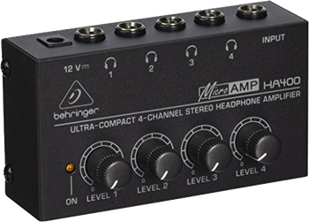 Behringer HA400 4-Channel Headphone Amp