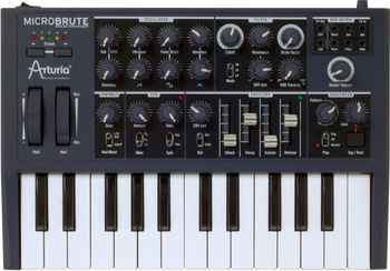Arturia MicroBrute Analog Synthesizer Keyboard