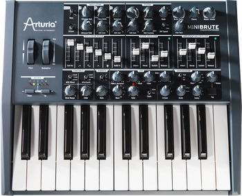 Arturia MiniBrute Analog Keyboard Synthesizer