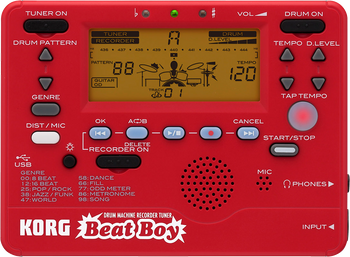 Korg Beat Boy Drum Machine Recorder Tuner