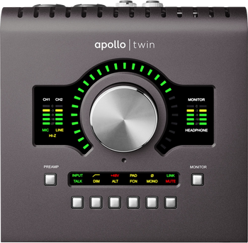 Universal Audio Apollo Twin MKII Duo Interface with Realtime UAD Processing