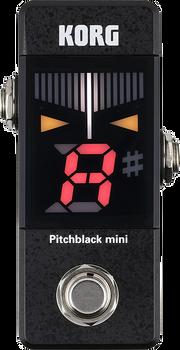 Korg Pitchblack Mini Pedal Tuner Black