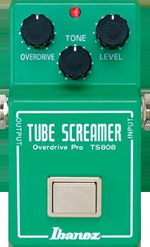 Ibanez TS808 Original Tube Screamer Reissue Overdrive Pedal
