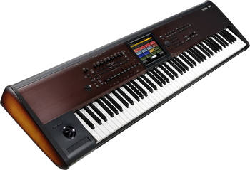 Korg Kronos LS 88-Note Semi-Weighted Workstation with Free Korg Hard Case