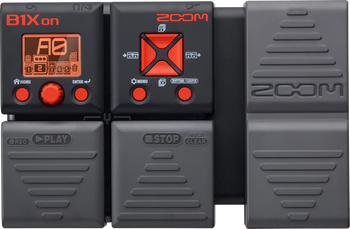 Zoom B1Xon Bass Multi-Effects Processor with Expression Pedal