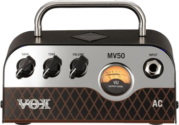 Vox MV50 AC 50W Mini Guitar Amp Head