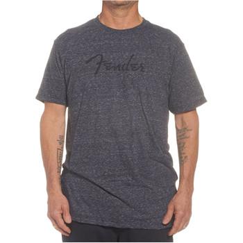 Fender Logo T-Shirt Dark Grey, XL