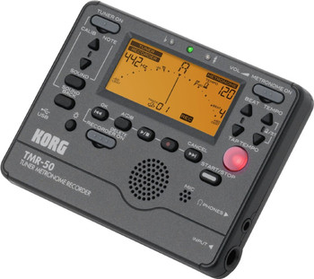 Korg Chromatic Tuner Metronome with Recorder -Black