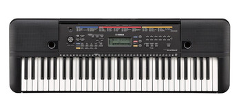 Yamaha PSRE263 Portable Keyboard with HPH50B Headphones