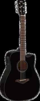 Yamaha FGX800C BL Acoustic/Electric Black