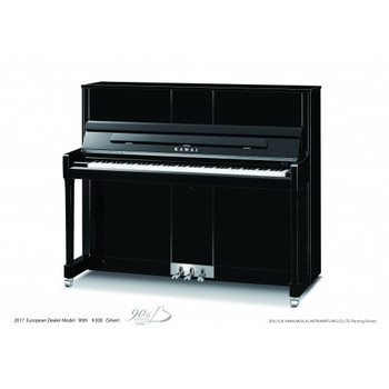 Kawai K-300 90th Anniversary Limited Edition 122cm Upright Acoustic Piano