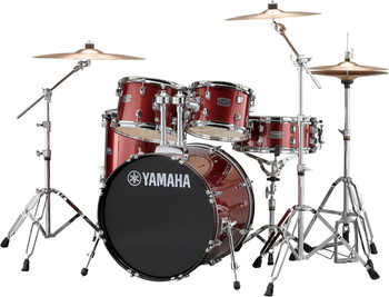 Yamaha Rydeen Fusion Drum Kit Burgundy Glitter