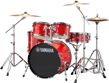 Yamaha Rydeen Fusion Drum Kit Hot Red