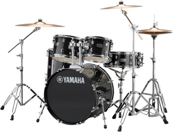 Yamaha Rydeen Euro Drum Kit Black Glitter