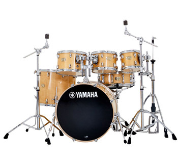 Yamaha Stage Custom Birch Euro Shell Pack Cranberry Red