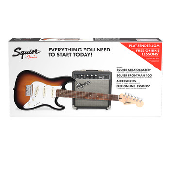 Squier Affinity Series Stratocaster HSS Pack Sunburst (0301814332)